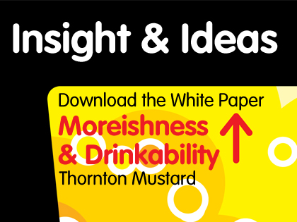 Moreishness and Drinkability